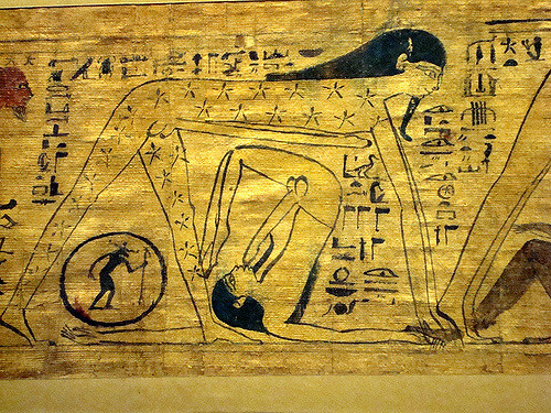 Question egyptian drawings ancient sex seems